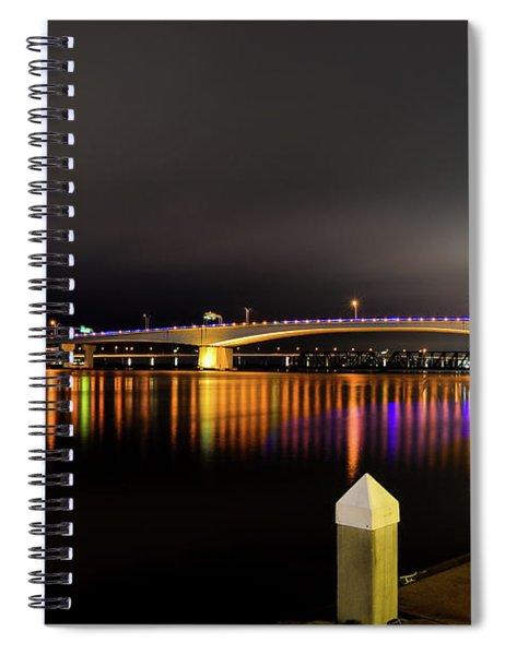 Jacksonville Night Sky Spiral Notebook