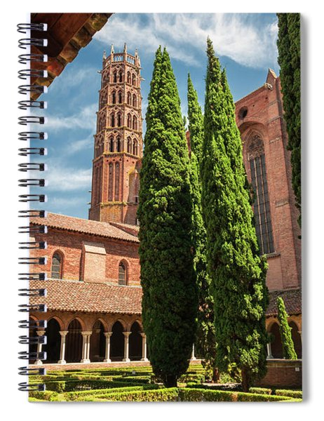 Jacobin Convent In Toulouse Spiral Notebook