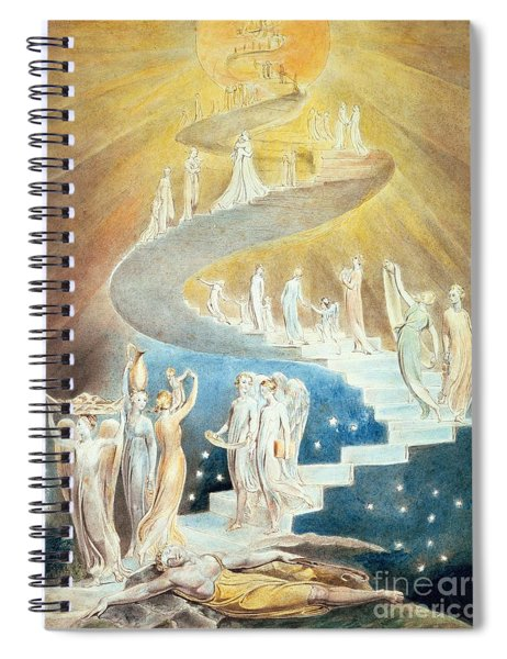 Jacobs Ladder Spiral Notebook