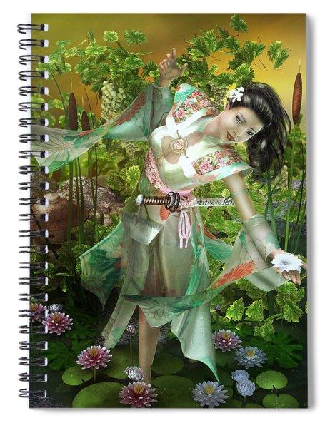 Jade Spiral Notebook