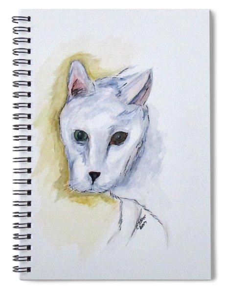 Jade The Cat Spiral Notebook