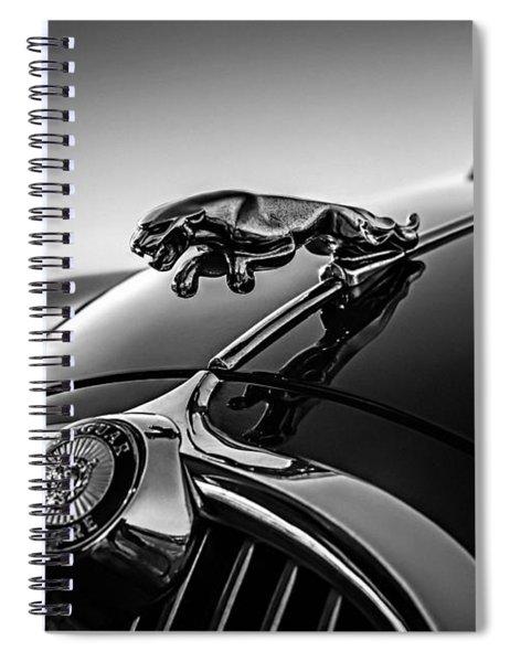 Jaguar Mascot Spiral Notebook