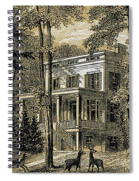 James John Audubon's Home Minniesland Spiral Notebook