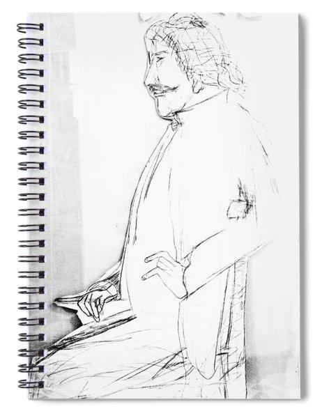 James Whistler's Portrait Spiral Notebook