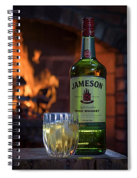 Jameson By The Fire Spiral Notebook