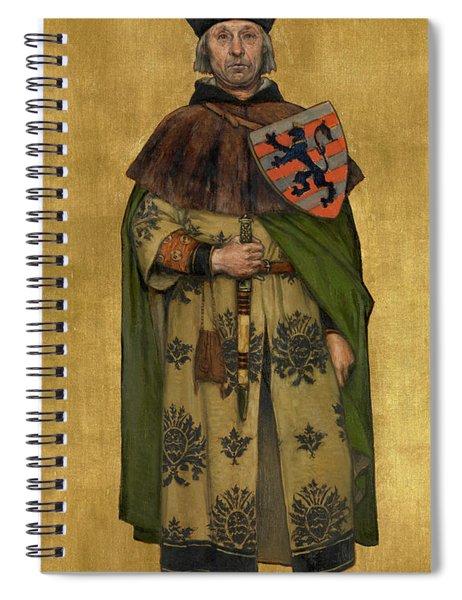 Jan Boonen Spiral Notebook