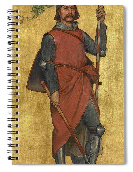 Jan Breydel Spiral Notebook