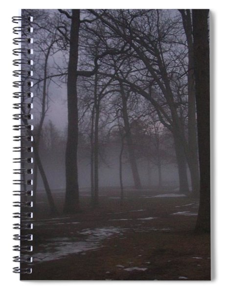 January Fog 2 Spiral Notebook