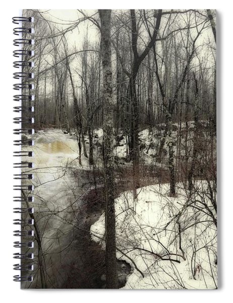 January Thaw At Hunter Brook Spiral Notebook
