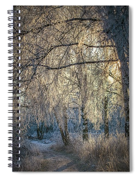 January,1-st, 14.35 #h4 Spiral Notebook