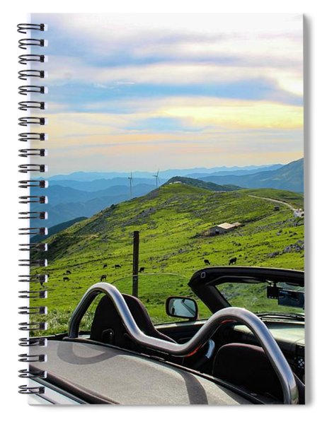 Japan - Beautiful Road Spiral Notebook