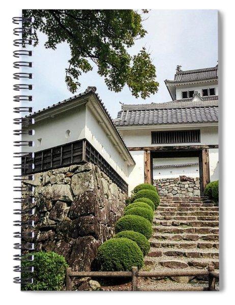 Japan - Gujo Hachiman Castle Spiral Notebook
