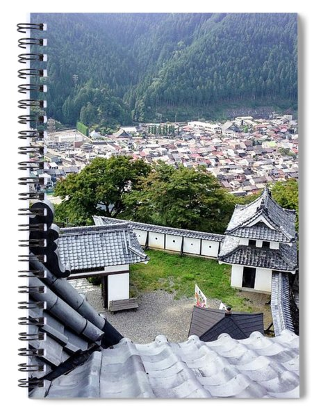 Japan - Gujyo Hachiman Castle 2 Spiral Notebook