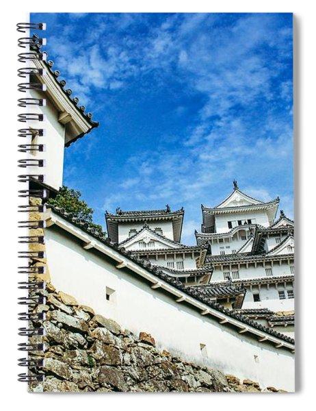 Japan - Himeji Castle Spiral Notebook