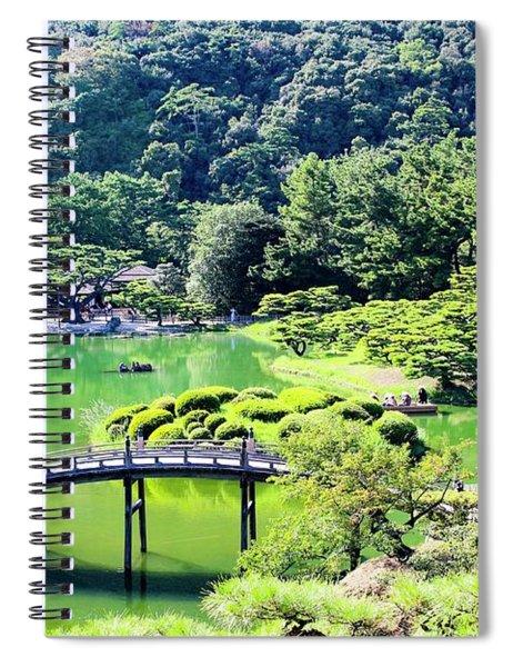 Japan - Risturin Garden  Spiral Notebook