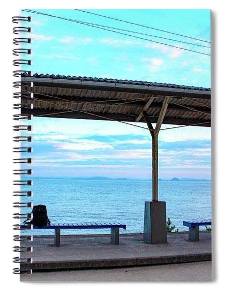 Japan - Shimonada Station Spiral Notebook