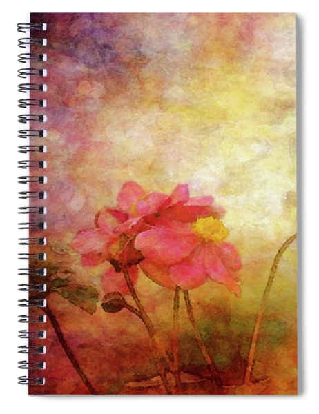 Japanese Anemone Landscape 3959 Idp_2 Spiral Notebook