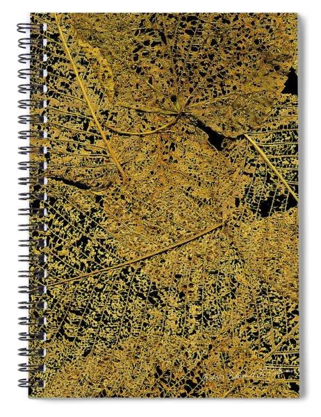 Japanese Beetle Artwork Spiral Notebook by Edward Peterson