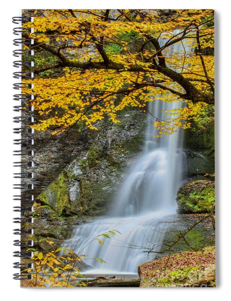 Japanese Falls Spiral Notebook