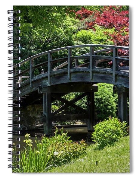 Japanese Garden Bridge Spiral Notebook