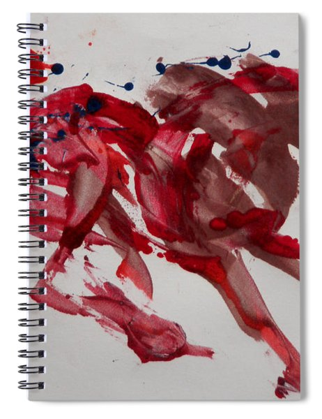 Japanese Horse Spiral Notebook
