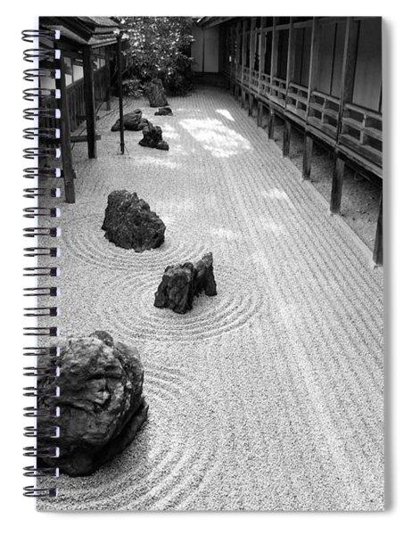 Japanese Zen Garden Spiral Notebook