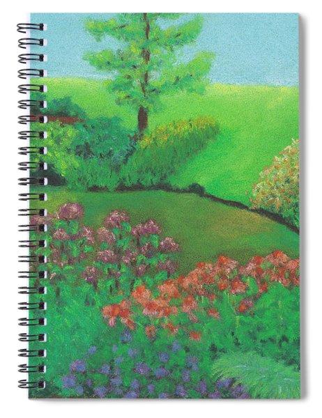 Jardin De Juillet Spiral Notebook