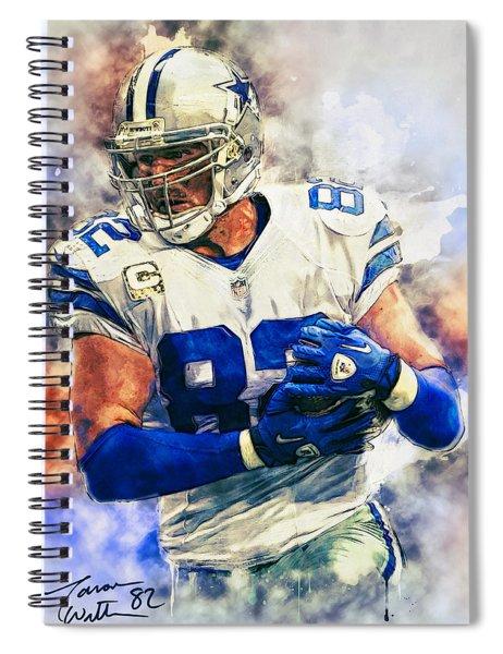 Jason Witten Spiral Notebook