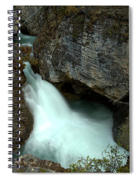Jasper Beauty Creek Waterfall Canyon Spiral Notebook