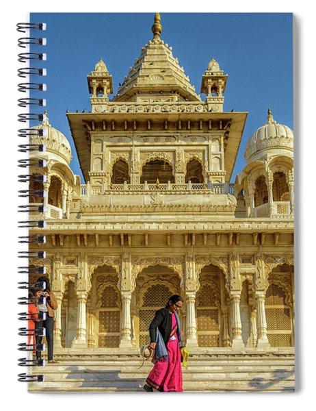 Jaswant Thada 01 Spiral Notebook