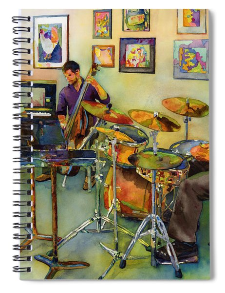 Jazz At The Gallery Spiral Notebook