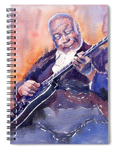 Jazz B.b. King 03 Spiral Notebook