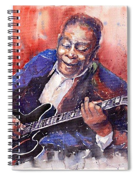 Jazz B B King 06 A Spiral Notebook