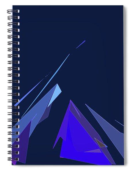 Jazz Campfire Spiral Notebook