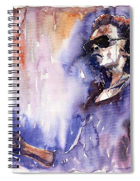 Jazz Miles Davis 14 Spiral Notebook
