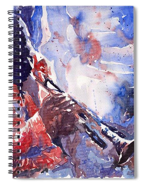 Jazz Miles Davis 15 Spiral Notebook