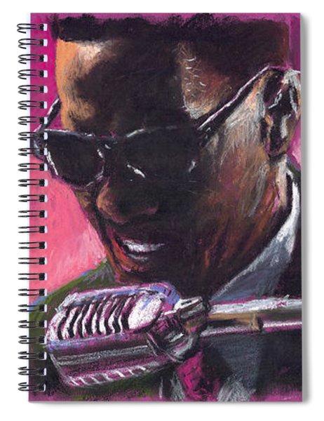 Jazz. Ray Charles.1. Spiral Notebook