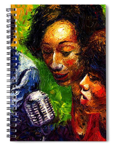 Jazz  Ray Song Spiral Notebook