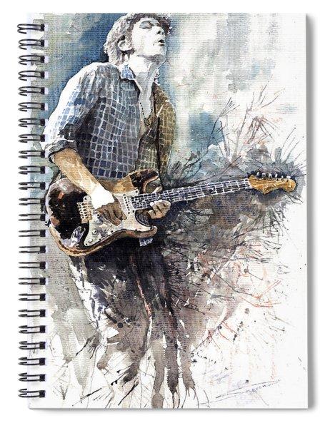 Jazz Rock John Mayer 05  Spiral Notebook