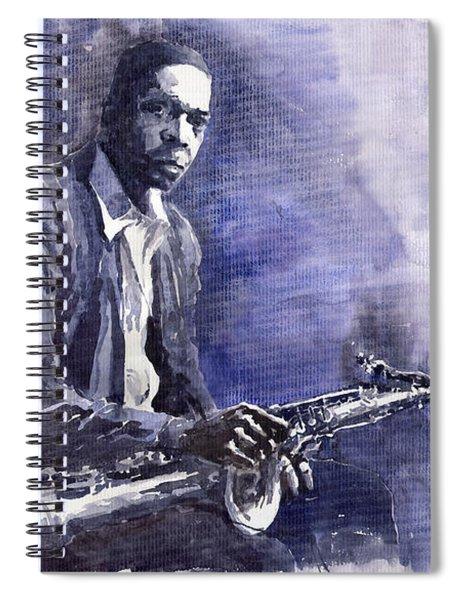 Jazz Saxophonist John Coltrane 03 Spiral Notebook