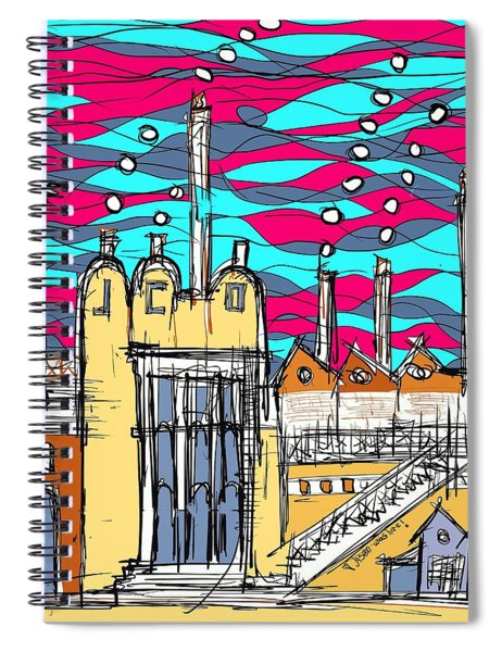 J.co. Factory  Spiral Notebook