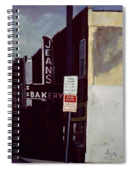 Jean's Bakery Spiral Notebook