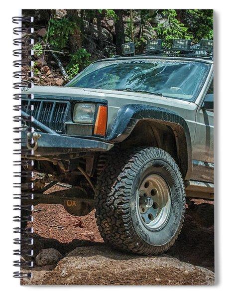 Jeep Cherokee Spiral Notebook