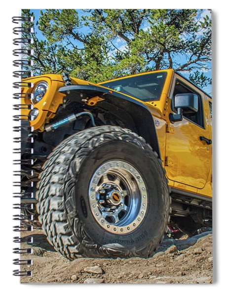 Jeep Life Spiral Notebook