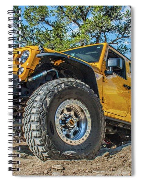 Jeep Life Spiral Notebook