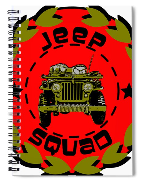 Jeep Squad Spiral Notebook