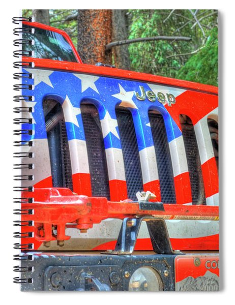Jeep Usa Spiral Notebook