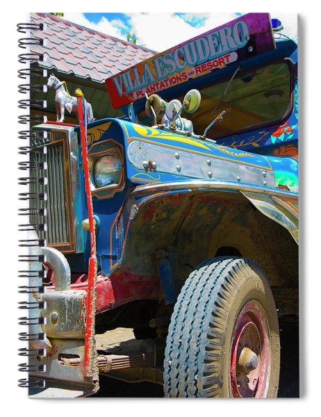 Jeepney Spiral Notebook