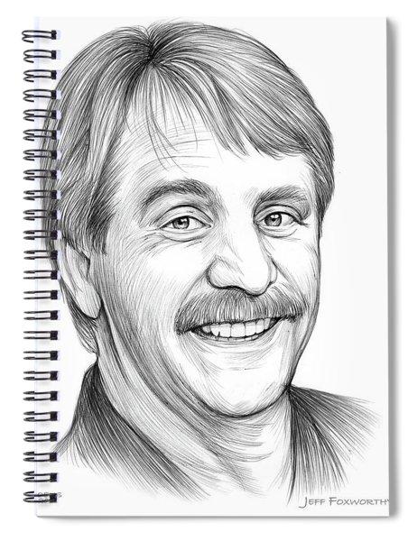 Jeff Foxworthy Spiral Notebook