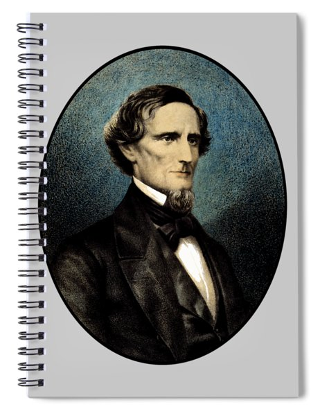 Jefferson Davis Spiral Notebook